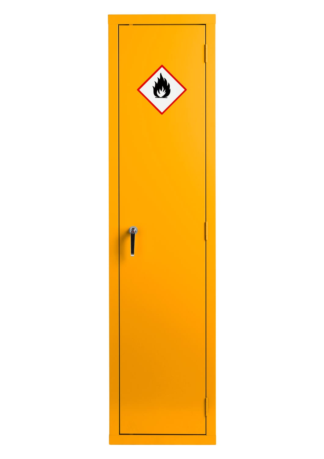 Yellow Flammable Made To Order Cabinet 1830x459x459