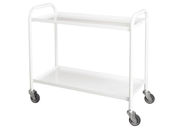 Medical 2 Tier Trolley – 1060x460x950 - James Bedford Industrial
