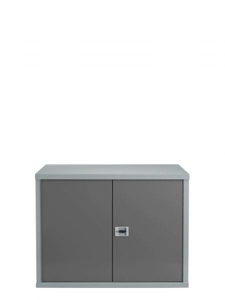 Heavy Duty Workshop Storage  Cabinet – 900 x 1200 x 600 – Blue Grey & Silver Grey - James Bedford Industrial
